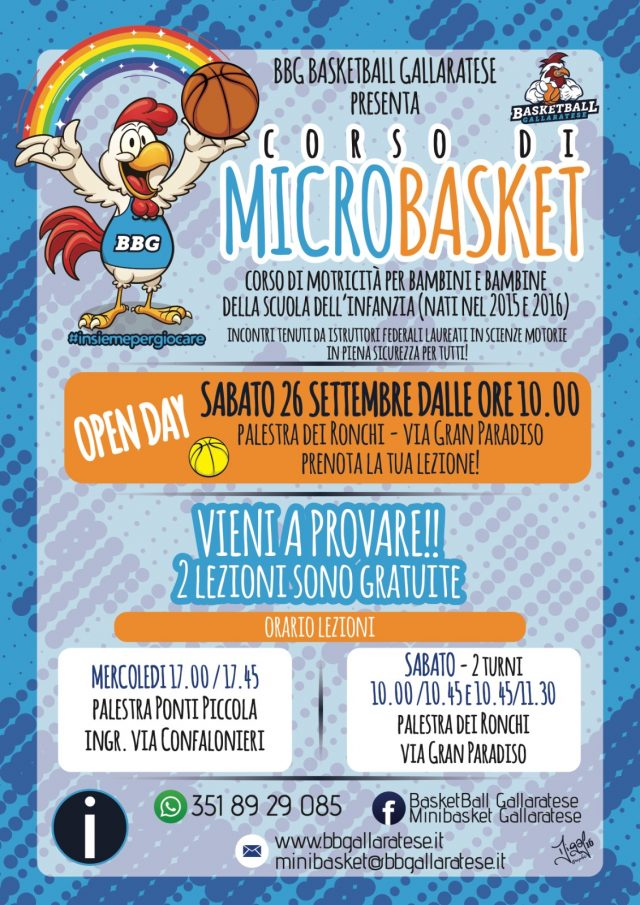 MICROSKET: Open Day 26 settembre